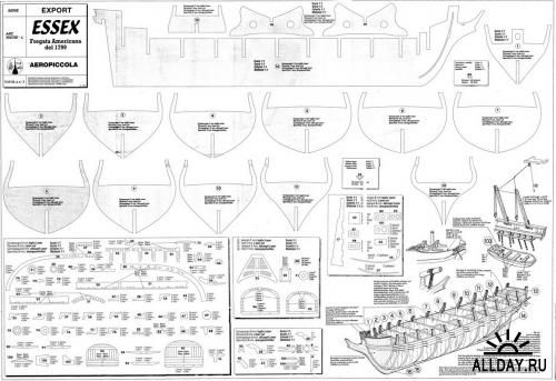 Чертежи пиратских кораблей своими руками 17