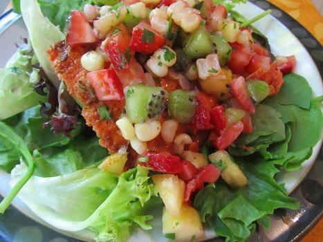 salmon with fruit salsa | Favorite Recipes | Pinterest