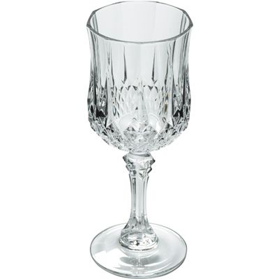 I love drinking wine out of the glasses.