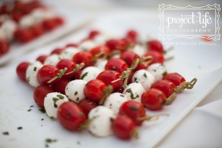 caprese salad skewers | Savory | Pinterest