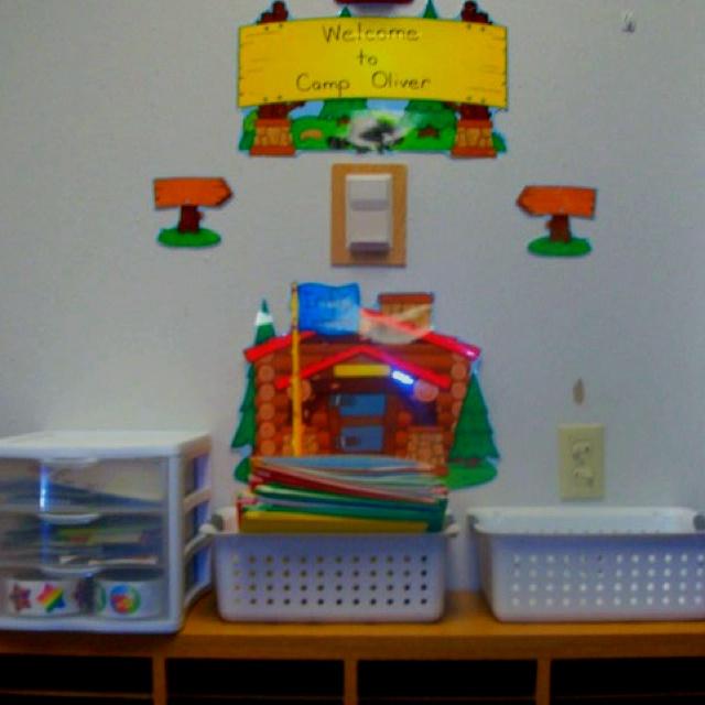 Camp Oliver-information center