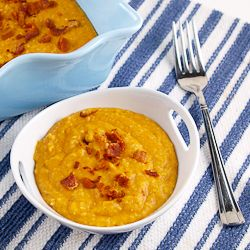 Creamy Pumpkin Polenta | Recipes to try | Pinterest