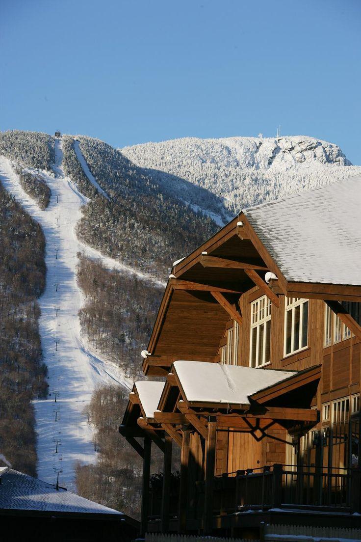 Stowe mountain lodge vermont i love vermont pinterest for Ski cottage