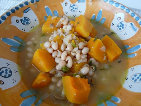 Weekday Vegetarian: White Bean Stew with Porcini and Winter Squash ...
