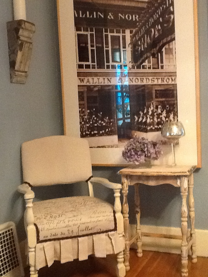 Nordstrom Picture And Burlap Chair Home Decor Pinterest
