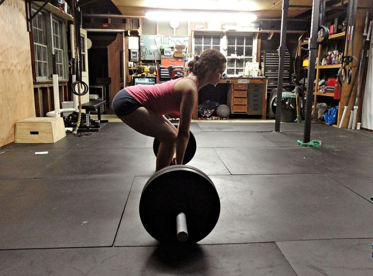 Garage workout room pinterest