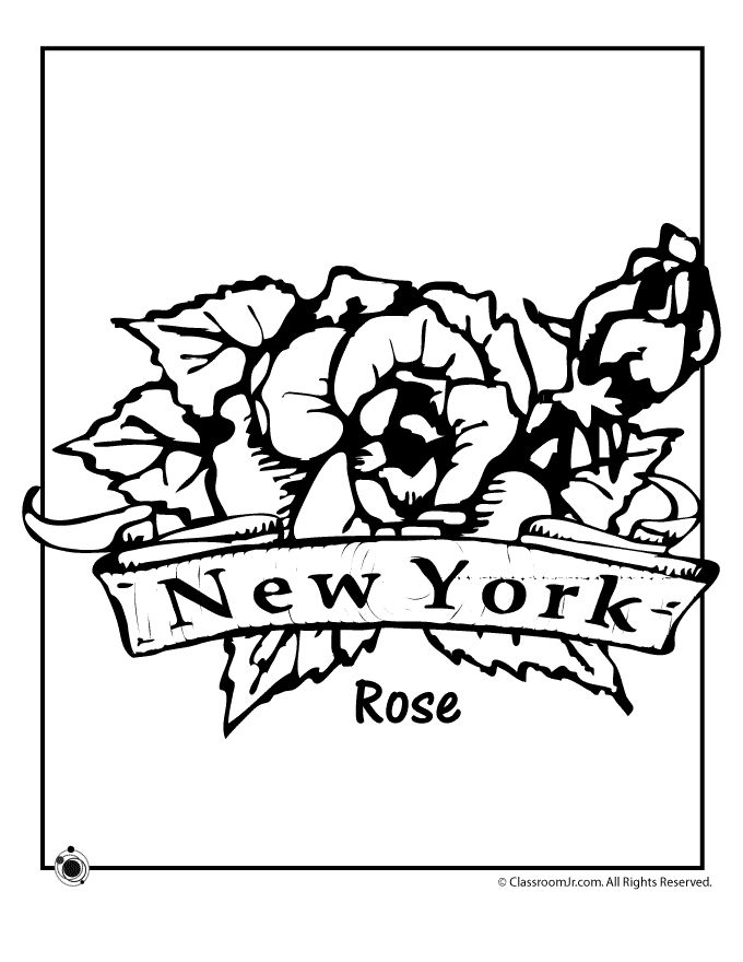 New York State Coloring Sheets Coloring Pages New York Coloring Pages