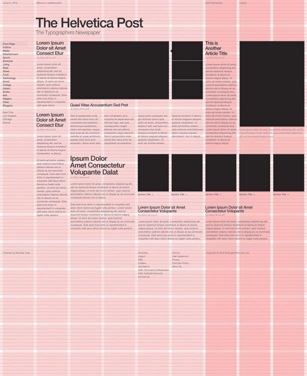 Grid graphic design  Wikipedia