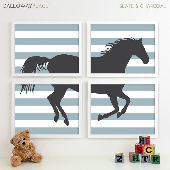 Horse Nursery Art