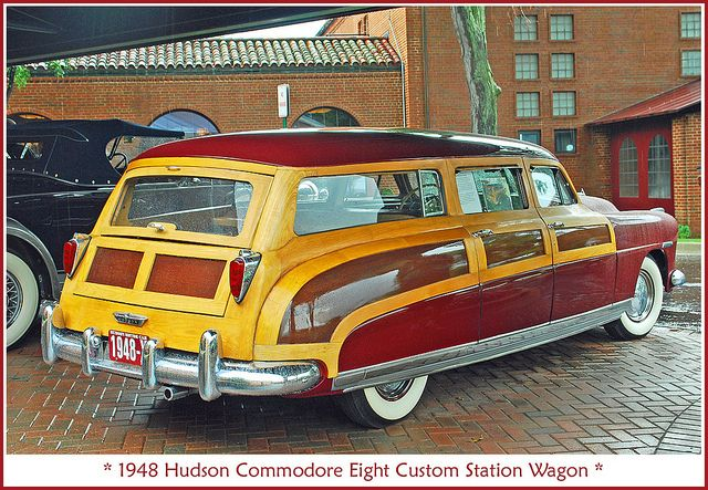 1948 Hudson Commodore woodie