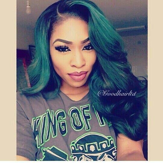 Crochet Green Hair : Pin by Ty Johnson on Things I Like Pinterest