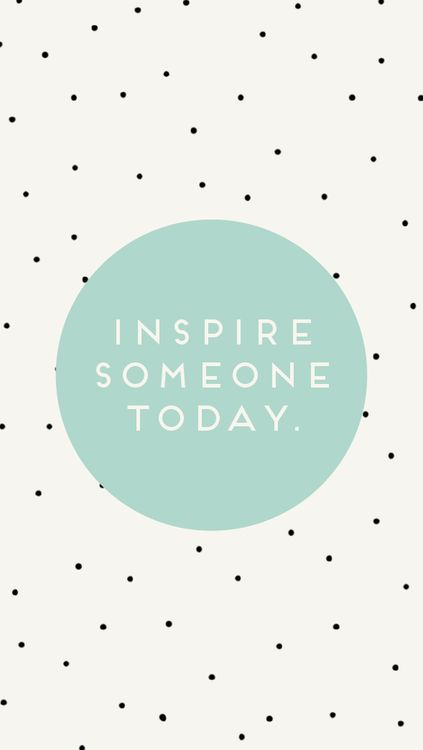 Giving someone inspiration is one of the best gifts you can possibly give.