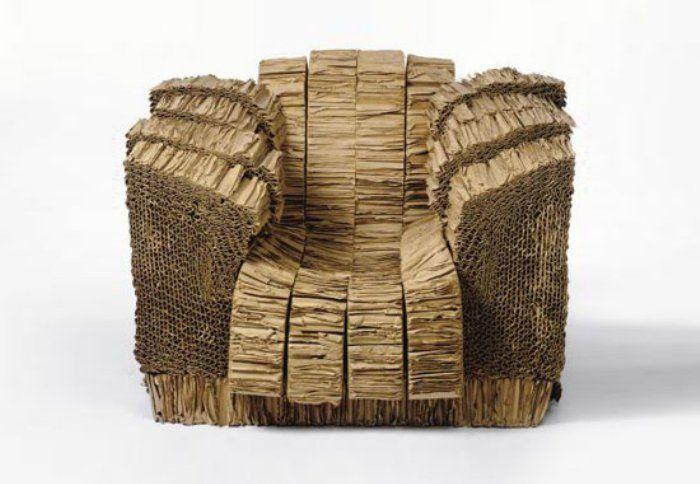 Gehry s cardboard chair diy cardboard pinterest