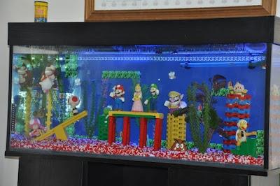 Mario fish tank hot girls wallpaper for Mario fish tank