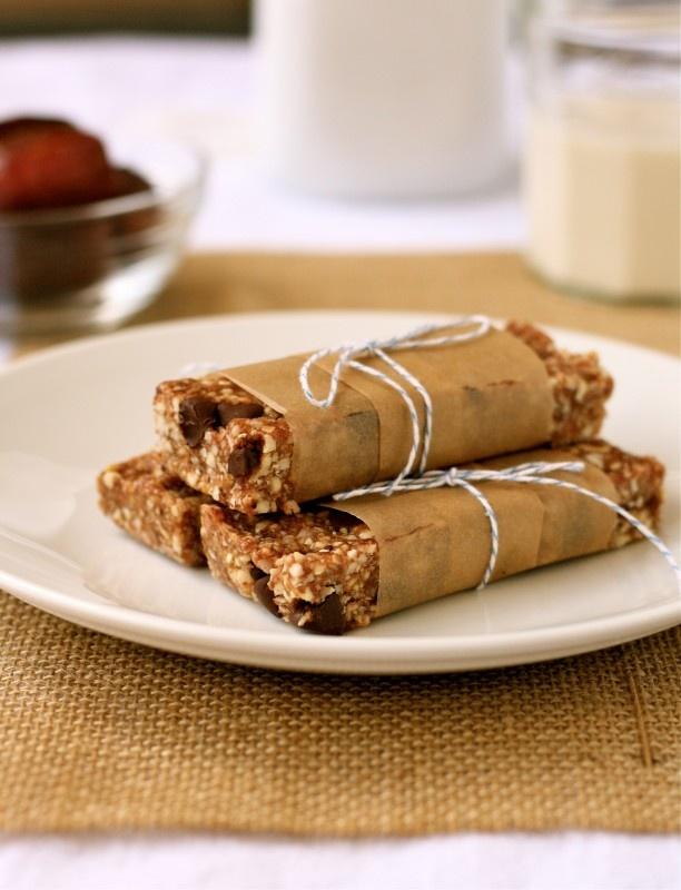 homemade larabars; chocolate chip cookie dough, coconut cream pie, and ...