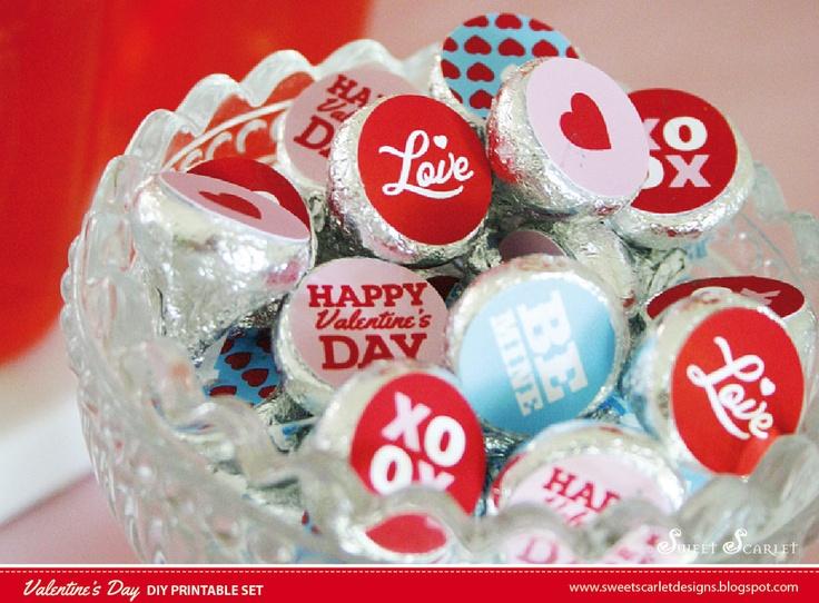 hershey kiss valentine gifts