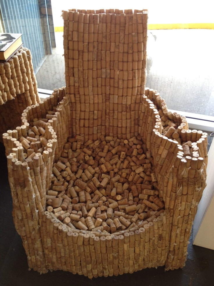 Wine cork chair cork ideas pinterest for Wine cork ideas