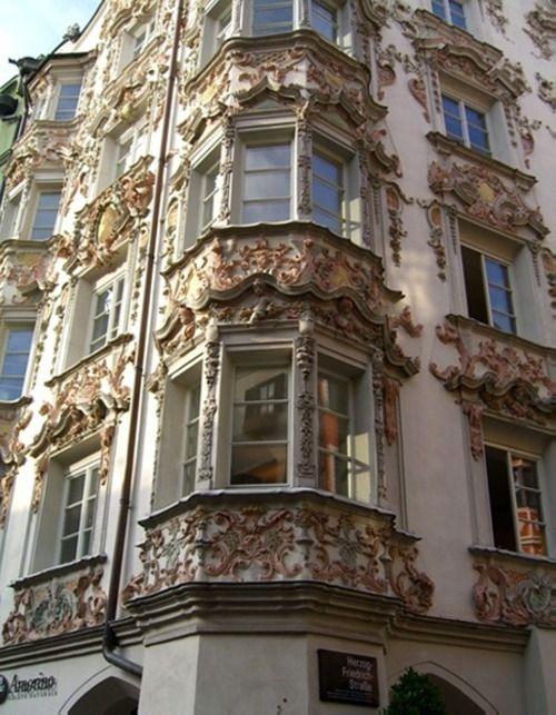 Innsbruck house rococo arch c ur ar pinterest for Architecture rococo