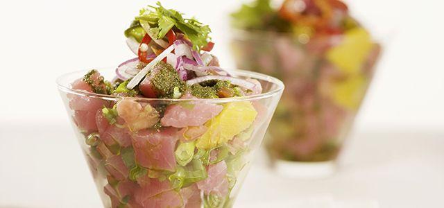 Tuna Ceviche de los Andes | Main dish recipes | Pinterest