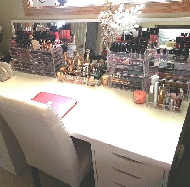 organized vanity organization 101 pinterest