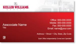 keller williams business card template keller williams