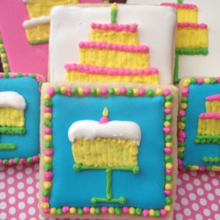 Pin Creations Cookies Briannas 11th Birthday Party Cake ...