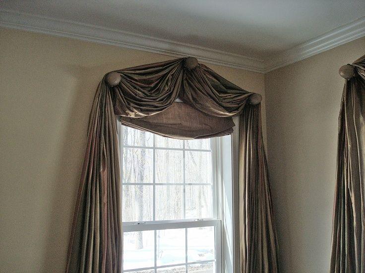 Arched Window Treatment Ideas Dream Home Pinterest