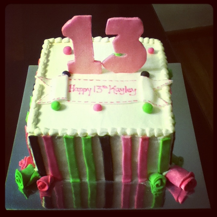 13th birthday cake images frompo for 13th birthday decoration ideas
