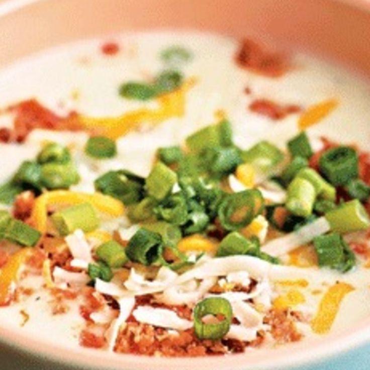 Potato Bacon Soup | Yum...soups | Pinterest