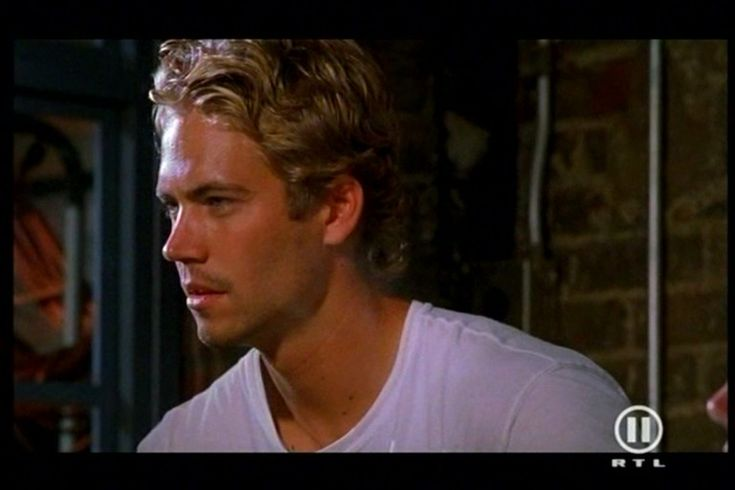 Fast And Furious 2001 Paul Walker Paul Walker# Fast and ...