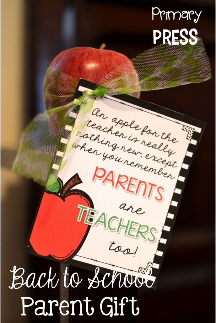 Parent gift for orientation/open house  Back to School Night  Pinte…