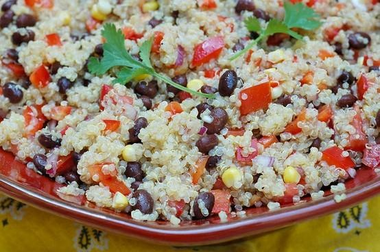 Southwestern Black Bean, Quinoa And Mango Medley Recipes — Dishmaps