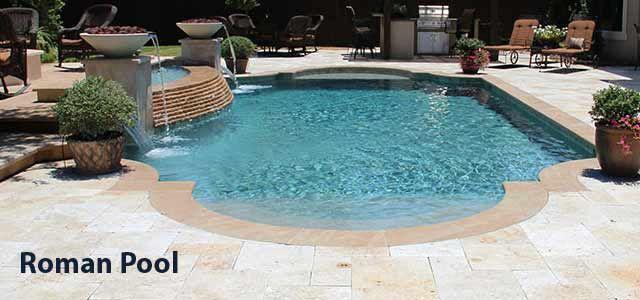 Roman Pool Design Backyard Inspirations Pinterest