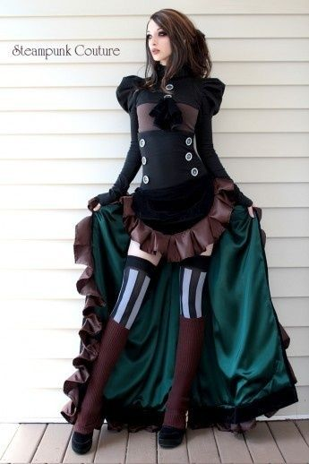 steampunk couture steampunk