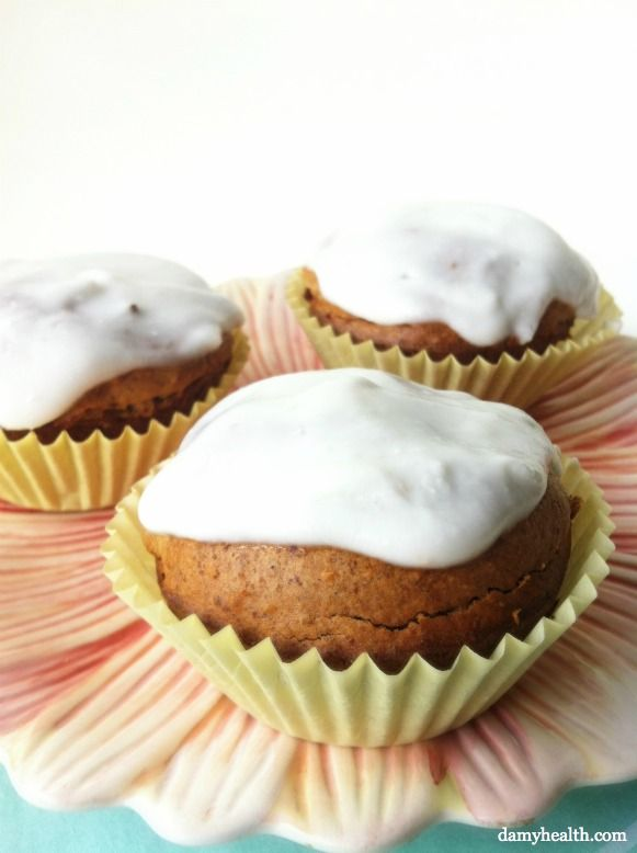 Pineapple Coconut Muffins (GF and High Fiber) *This recipe is gluten ...