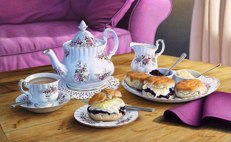 Brett Humphries  —  Traditional Cream Tea, 2014 (1200x739)