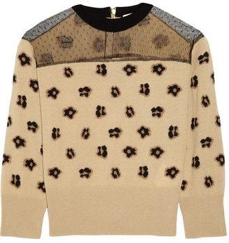 red valentino leopard jacket