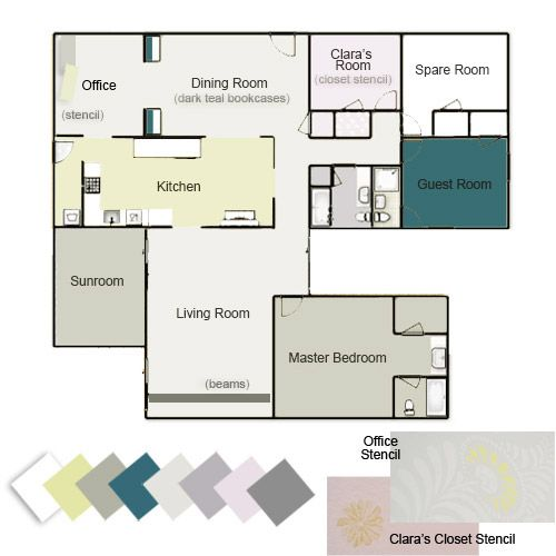 our whole house color palette nature inspired color palettes aka design seeds for