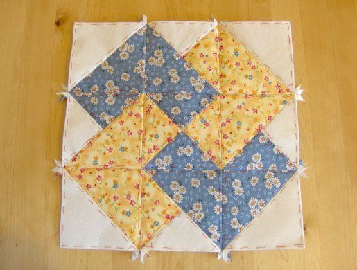 Quilting Pattern Card Trick Block : Card trick block pattern Card Trick Quilts Pinterest