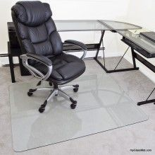 Solution Buy A Glass Chair Mat Guaranteed To Be Your Last Chair Mat