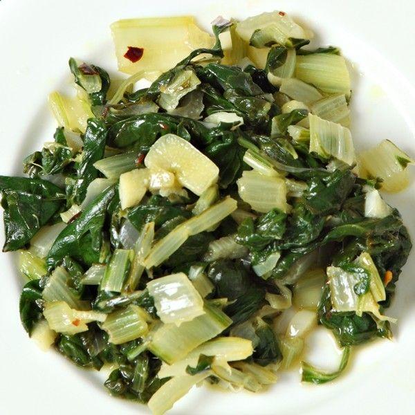 Garlic-Sauteed Swiss Chard - delicious! | Food | Pinterest