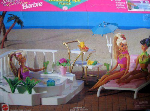 Hot Tub Barbie   Barbie Collection   Pinterest