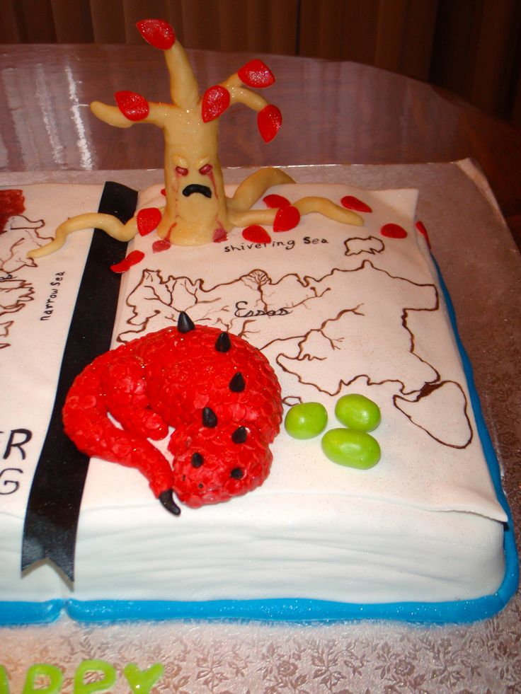 Game of thrones cake- dragon