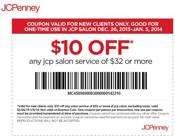 Jcpenney online coupon codes november 2018