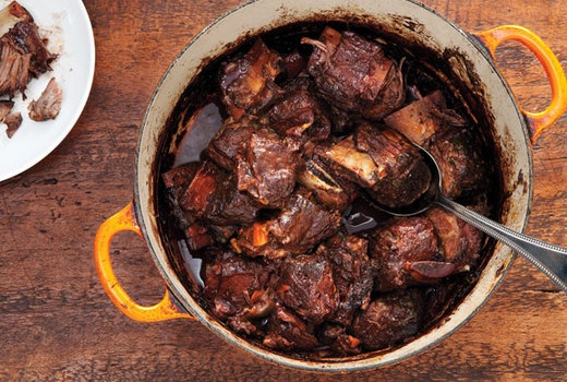 red wine braised short ribs | Fall Food/Drink Recipes | Pinterest