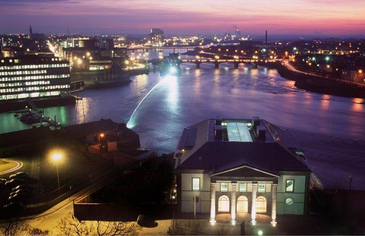 Limerick City at night. | The River Shannon Project | Pinterest