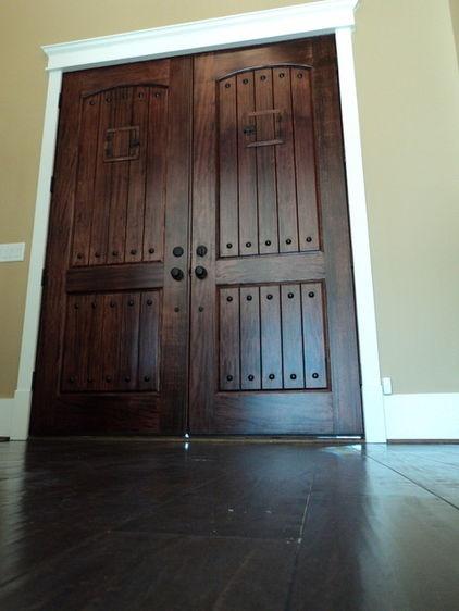Dark Door White Trim My Future Home Pinterest