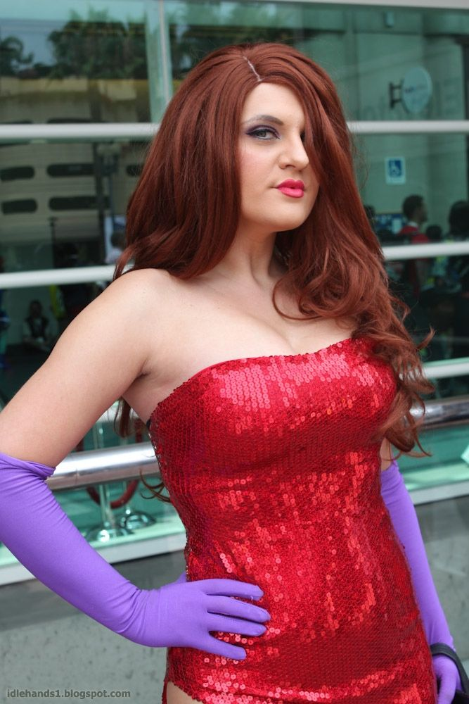 Jessica Rabbit cosplay at San Diego Comic Con 2013 (photo by Nicole ...