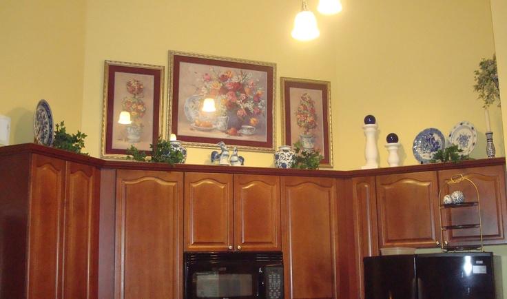 kitchen vignette dream home pinterest