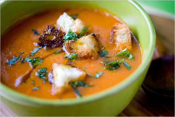 red pepper and potato soup | Mmm...mmm...mmm, Into my Mouth, Down int ...